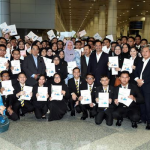 Japan-Bound MJHEP Students get Congratulation Cards from PM