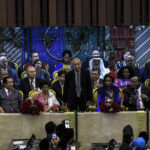 Dr Mahathir Attends President Jokowi's Sworn in Ceremony As Indonesian President for Second Term