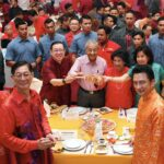 PM, Cabinet Ministers Celebrate CNY Open House