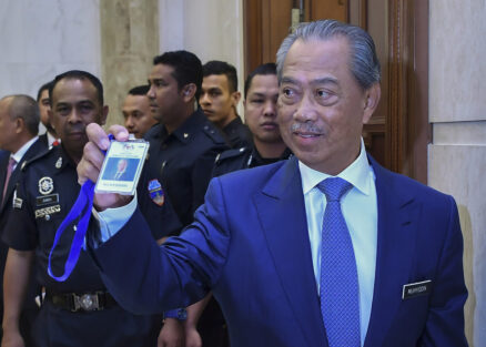 PM Muhyiddin Begins Work as Prime Minister