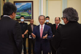 Prime Minister receives cash donations of RM4.6 million for COVID-19 Fund