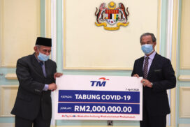 PM receives RM4 mln for COVID-19 Fund, bringing total to RM22.6 mln