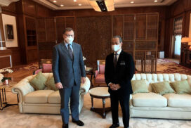 British High Commissioner meets PM Muhyiddin to discuss COVID-19 crisis