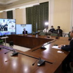 PM Lends Ear to Frontliners via Video Conference