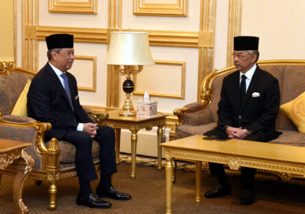 Agong grants audience to PM Muhyiddin for Pre-Cabinet meeting