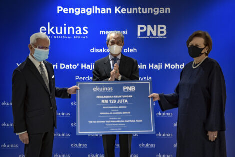 Ekuinas to share RM120 million of its gains via PNB for benefit of Bumiputera