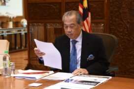 PM Muhyiddin back in office after completing 14-day home quarantine