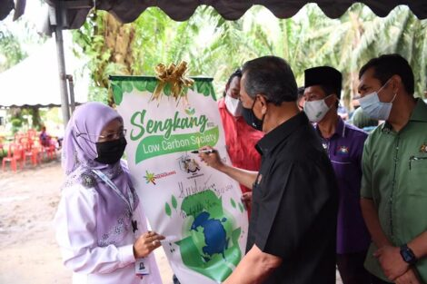PM launches Low Carbon Community Programme in Sengkang