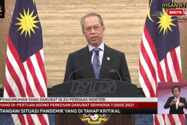 PM Muhyiddin calls on people to remain calm, trust government over COVID emergency