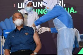 PM Muhyiddin gets premier jab as Malaysia's COVID-19 Immunisation Programme rolls out